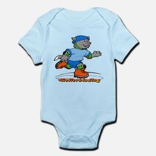 Rollerblading Infant Bodysuit