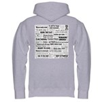 44: Obama Inauguration Newspa Hooded Sweatshirt