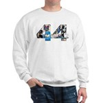 44: Obama Inauguration Newspa Sweatshirt