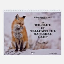 ''Yellowstone Wildlife'' Wall Calendar