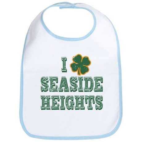 I Shamrock Seaside Heights Bib