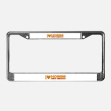 I Love Hobbs, NM License Plate Frame