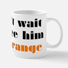 DeLay prison orange Mug