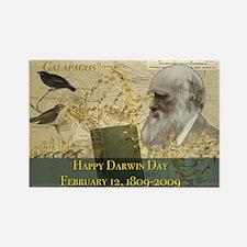 Darwin Day 2009 Rectangle Magnet