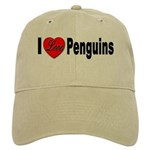 I Love Penguins Cap