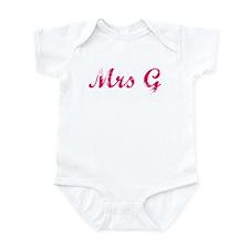 Mrs G Infant Bodysuit
