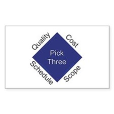 QCSS Rectangle Sticker 10 pk)