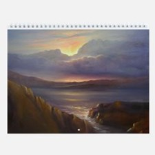 Unique Oil paintings Wall Calendar