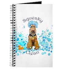 Welsh Terrier Bubble Bath Journal