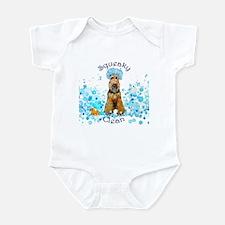 Welsh Terrier Bubble Bath Infant Bodysuit