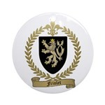 FRIOLET Family Crest Ornament (Round)