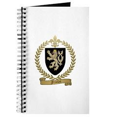 FRIOLET Family Crest Journal