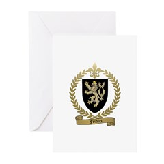 FRIOLET Family Crest Greeting Cards (Pk of 20)