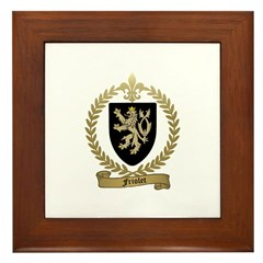 FRIOLET Family Crest Framed Tile