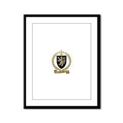 FRIOLET Family Crest Framed Panel Print