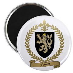 """FRIOLET Family Crest 2.25"""" Magnet (100 pack)"""