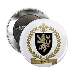 "FRIOLET Family Crest 2.25"" Button (10 pack)"