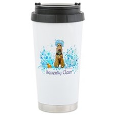 Welsh Terrier Bubble Bath Travel Mug