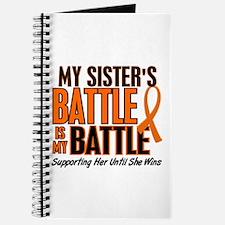 My Battle Too (Sister) Orange Journal