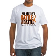 My Battle Too (Sister) Orange Shirt