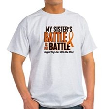 My Battle Too (Sister) Orange T-Shirt