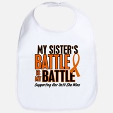 My Battle Too (Sister) Orange Bib
