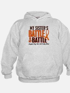 My Battle Too (Sister) Orange Hoodie