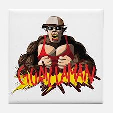 GorillaMan Tile Coaster