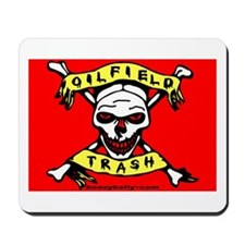 Oil Field Trash Mousepad