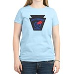 Pennsylvania Highway Patrol Women's Light T-Shirt