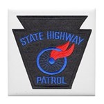 Pennsylvania Highway Patrol Tile Coaster