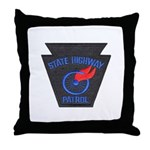 Pennsylvania Highway Patrol Throw Pillow