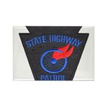 Pennsylvania Highway Patrol Rectangle Magnet (10 p