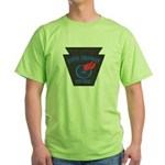 Pennsylvania Highway Patrol Green T-Shirt