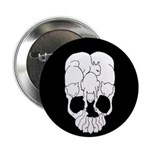 Cats Skull Button