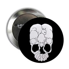 Cats Skull Button