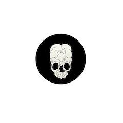 Cat Skull Mini Button