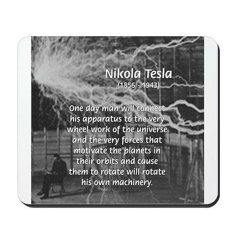 Alternating Current: Tesla Mousepad