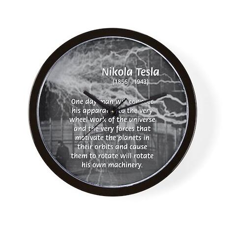 Alternating Current: Tesla Wall Clock