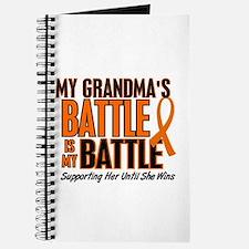 My Battle Too (Grandma) Journal