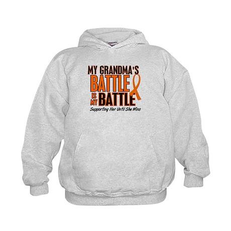 My Battle Too (Grandma) Kids Hoodie