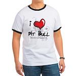 I Luv My Pit Bull Ringer T