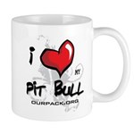 I Luv My Pit Bull Mug