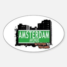 AMSTERDAM AVENUE, STATEN ISLAND, NYC Decal