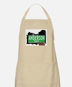 ANDERSON PLACE STATEN ISLAND, NYC Apron