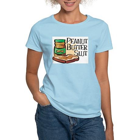Peanut Butter Slut Women's Pink T-Shirt