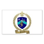 MALLAIS Family Crest Rectangle Sticker 10 pk)