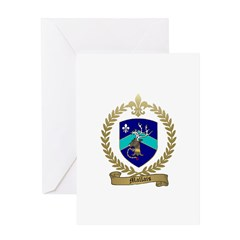 MALLAIS Family Crest Greeting Card