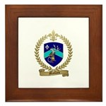 MALLAIS Family Crest Framed Tile