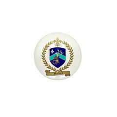 MALLAIS Family Crest Mini Button